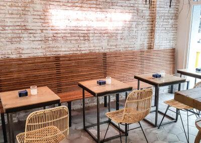 Muebles a medida en Madrid muebles de restaurante