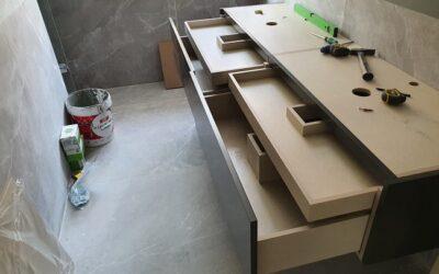 Mueble de Baño en Madera a Medida
